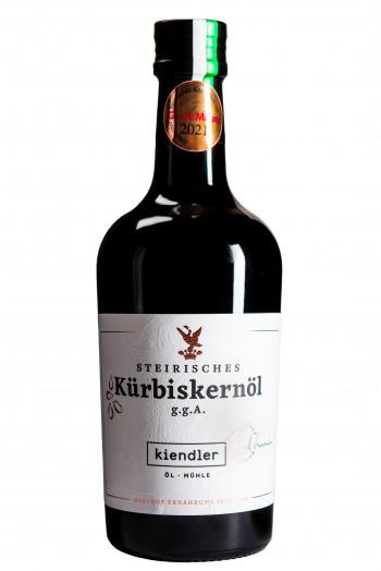 Steirisches Premium Kürbiskernöl ggA in der Flasche