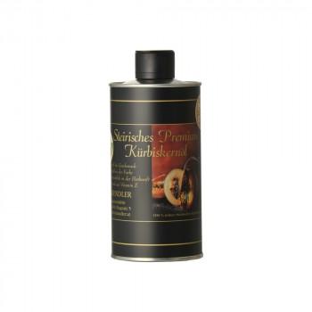 Steirisches Premium Kürbiskernöl ggA in der Dose